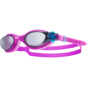 TYR Vesi Goggles Kinderen, smoke/purple